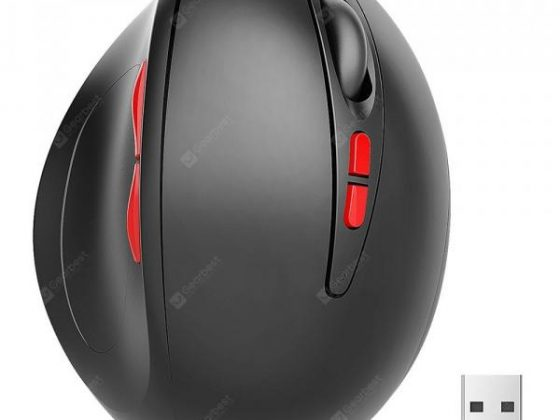 italiaunix-gocomma WM02 Vertical Wireless 2.4GHz Mouse  Gearbest