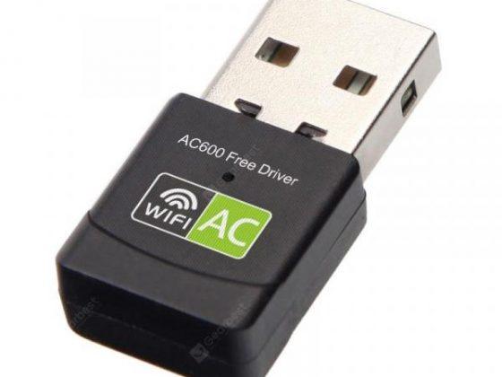 italiaunix-2.4+5 Ghz MIni Wireless USB Wifi Adapter Free Driver Receiver 600Mbps  Gearbest