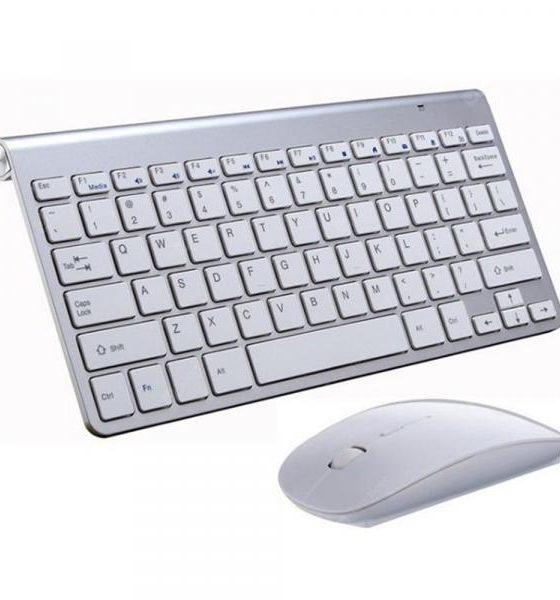 italiaunix-2.4GHz Ultra-thin Wireless Mouse Keyboard Set  Gearbest