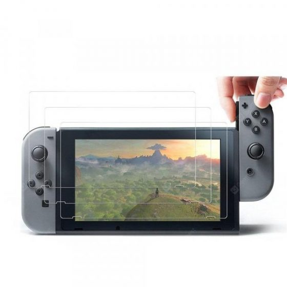 italiaunix-3pcs Tempered Screen Protector for Nintendo Switch  Gearbest