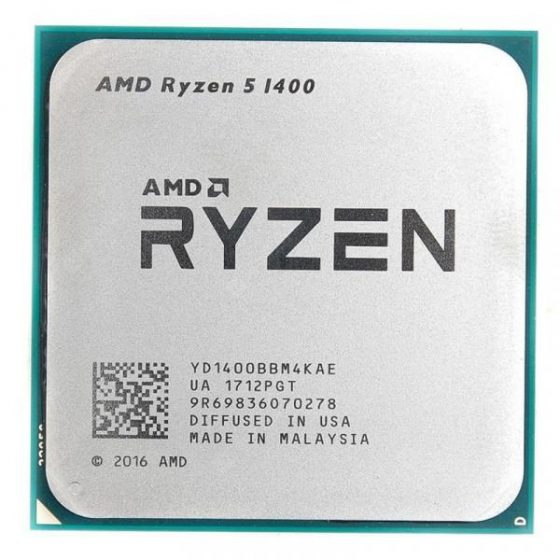 italiaunix-AMD Ryzen 5 1400 Processor 4 Core 8 Thread AM4 Interface 3.2GHz Processor with Box  Gearbest