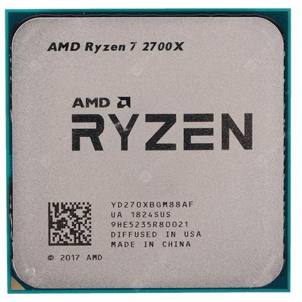 italiaunix-AMD Ryzen7 2700X 8 Core 16 Thread 4.3GHz AM4 Interface CPU Processor with Box  Gearbest