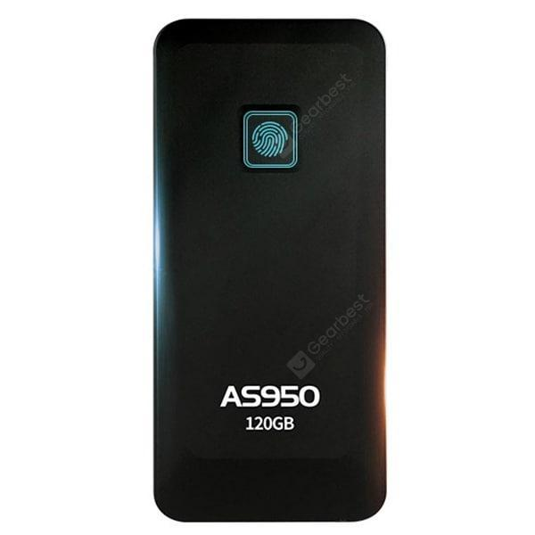 italiaunix-ASint AS950 Type-C Fingerprint Double Encryption Solid State Drive  Gearbest