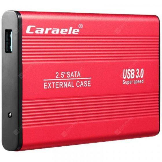 italiaunix-Caraele H - 1 Portable 2.5 inch External Hard Drive Storage USB3.0  Gearbest