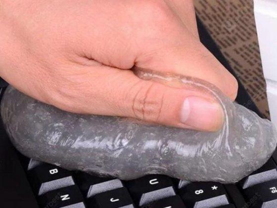 italiaunix-Keyboard Ash Cleaning Mud Soft Rubber Car Clean Tool  Gearbest
