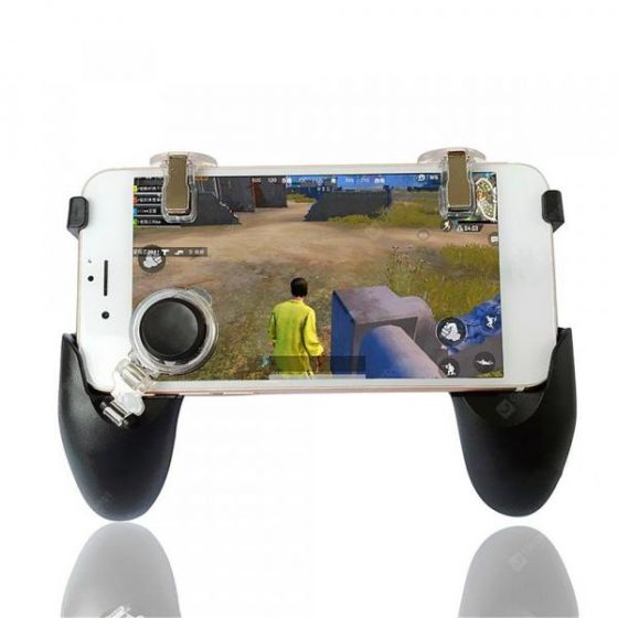 italiaunix-Minismile 5 in 1 Mobile Phone Game Controller Trigger Joystick Gamepad for PUBG  Gearbest