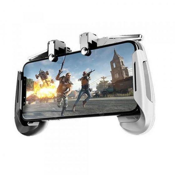italiaunix-Minismile AK16 Gaming Joystick Gamepad Trigger Fire Button L1R1 Game Controller  Gearbest