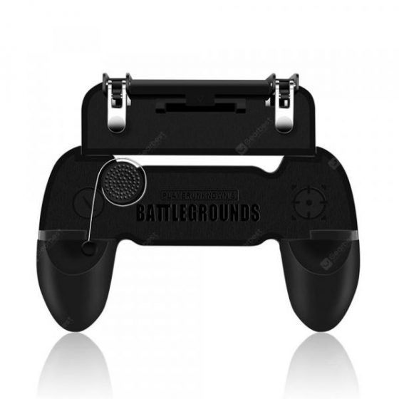 italiaunix-New Mobile Phone Game Controller Joystick Fire Trigger Gamepad for PUBG Fortnite  Gearbest