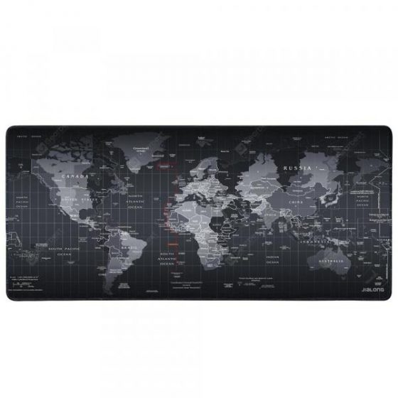 italiaunix-Non-slip World Map Mouse Pad  Gearbest