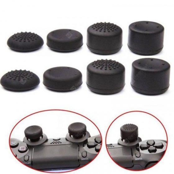 italiaunix-PS4 Cap PS3 Key Cap X360 Rocker Cap Mushroom Head 8 Pack PS4 Plus Cap 8 Sets  Gearbest