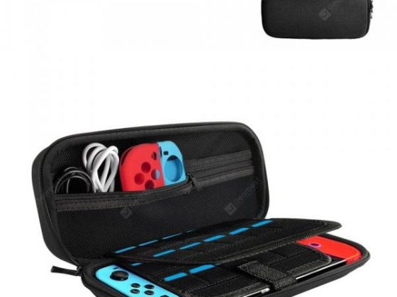 italiaunix-Portable Protective Carrying Bag Hard Travel Case for Nintendo Switch  Gearbest