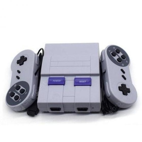 italiaunix-SUPER SFC Mini Game Console Built-in 400 Games NES Mini TV Game Console  Gearbest