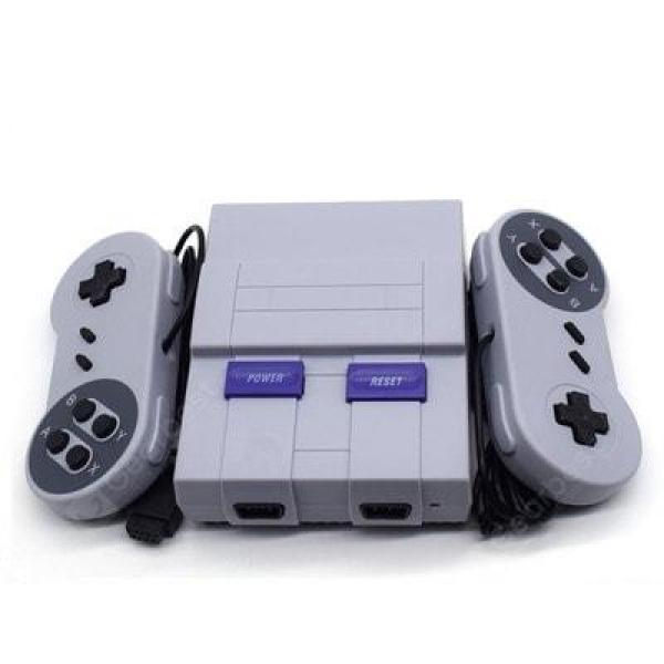 italiaunix-SUPER SFC Mini Game Console Built-in 400 Games NES Mini TV Game Console  Gearbest