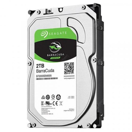 italiaunix-Seagate ST2000DM005 BarraCuda Series 2TB 3.5-inch Desktop Mechanical Hard Drive from Xiaomi youpin  Gearbest