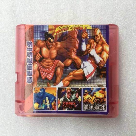 italiaunix-Super Games196 In 1 Genesis Sega Game Cartridge With 196 Video Games Tv Games  Gearbest