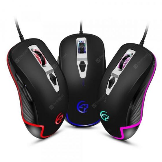 italiaunix-YWYT G818B Cable game mouse four-color breathing light cable game optoelectronic  Gearbest