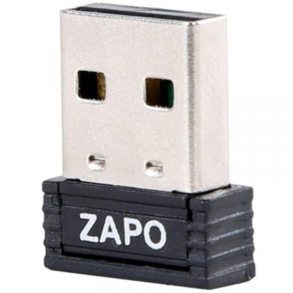 italiaunix-ZAPO W4 Mini 150Mbps Wireless USB Network Card Desktop WiFi Transmitter Receiver  Gearbest