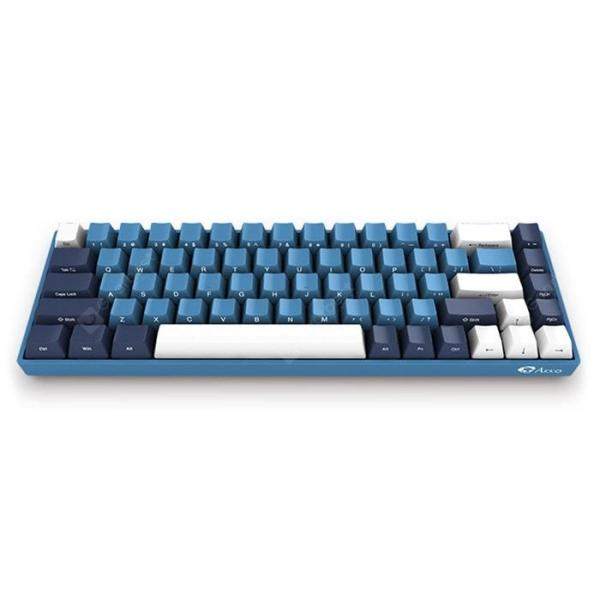 italiaunix-AKKO 3068 SP Ocean Star 68 Keys Cherry MX Switch Mechanical Keyboard  Gearbest