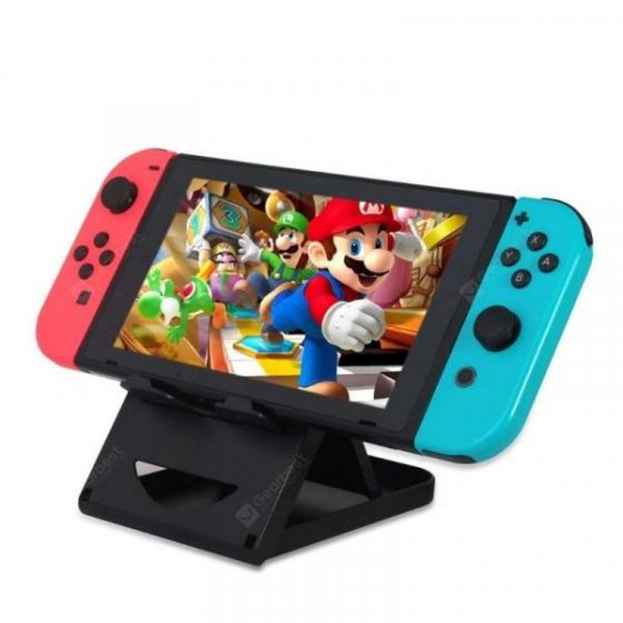 italiaunix-Adjustable Foldable ABS Bracket Play Stand Holder for Nintendo Switch  Gearbest