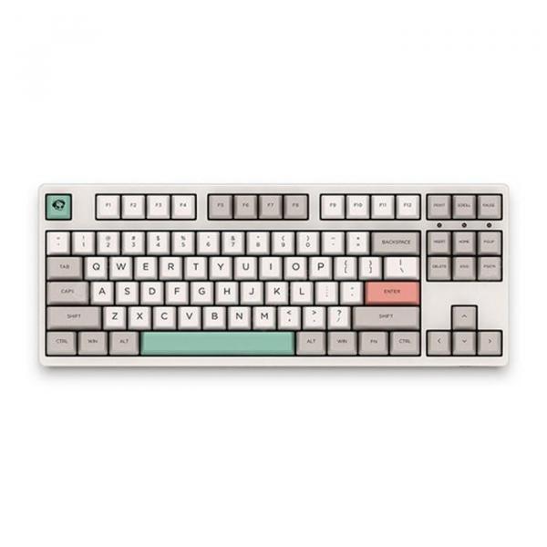 italiaunix-Akko 3087 - 9009 Retro 87 Keys Cherry Switch Wired Mechanical Keyboard PBT Keycap / All Key Anti-Ghosting  Gearbest