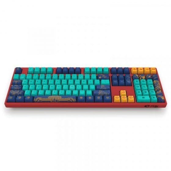 italiaunix-Akko Beijing 3108 V2 108 PBT Keycap Type-C Wired Mechanical Gaming Keyboard World Tour  Gearbest