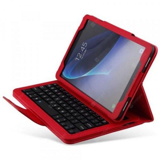 italiaunix-Cool Bluetooth Keyboard Case for Samsung Galaxy Tab A 10.1 ( T580 )  Gearbest