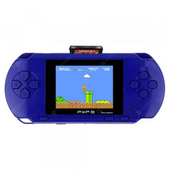 italiaunix-Coolbaby PXP3 3 Inch 16 Bit Video Games Player Handheld Card and Console  Gearbest