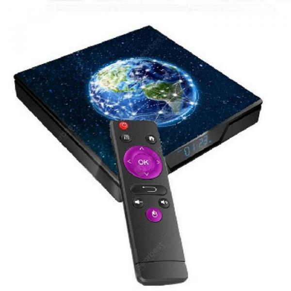 italiaunix-Gocomma A9X Smart Home Theater TV Box Amlogic S905X2 CPU  Gearbest