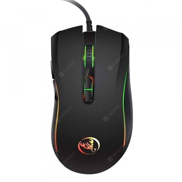 italiaunix-HXSJ Brand New  Professional Gaming Mouse With 7 Bright Colors LE  Gearbest