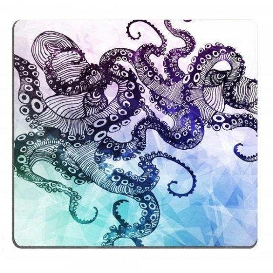 italiaunix-Hipster Octopus  Personalized Design Non-Slip Rubber Mousepad  Gearbest