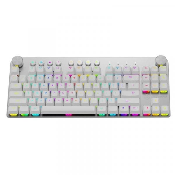 italiaunix-MAGIC - REFINER MK11 Dual-mode Bluetooth 3.0 Wireless Wired Mechanical Keyboard  Gearbest