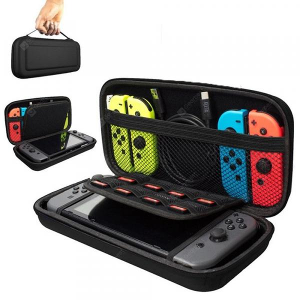 italiaunix-Portable Hard Shell Case for Nintend Switch Water-resistent EVA Storage Bag  Gearbest