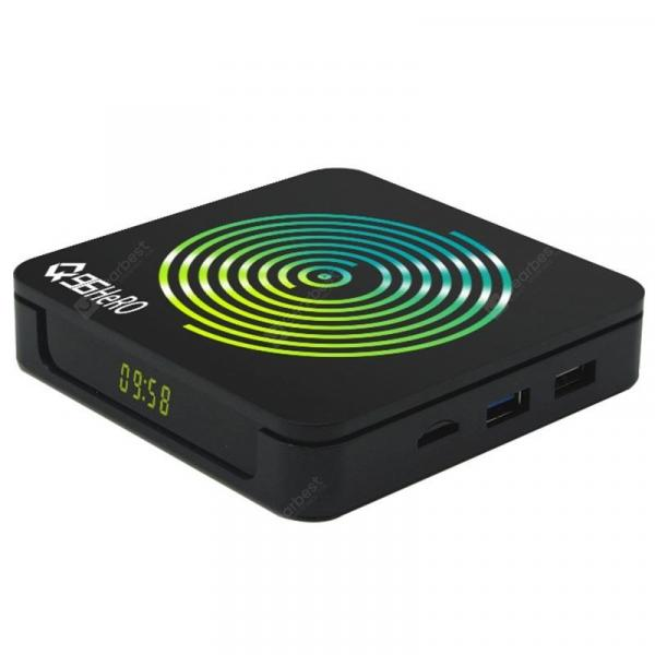 italiaunix-Q96 Hero Android 9.0 Smart TV Box Rockchip3318 / 2GB RAM + 16GB ROM / 2.4GHz + 5GHz WiFi / 1000Mbps / 3D / HDR / H.265 / Support 4K 30fps  Gearbest