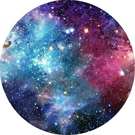 italiaunix-Round Anti Slip Gaming Space Black Hole Rubber Mouse Pad  Gearbest