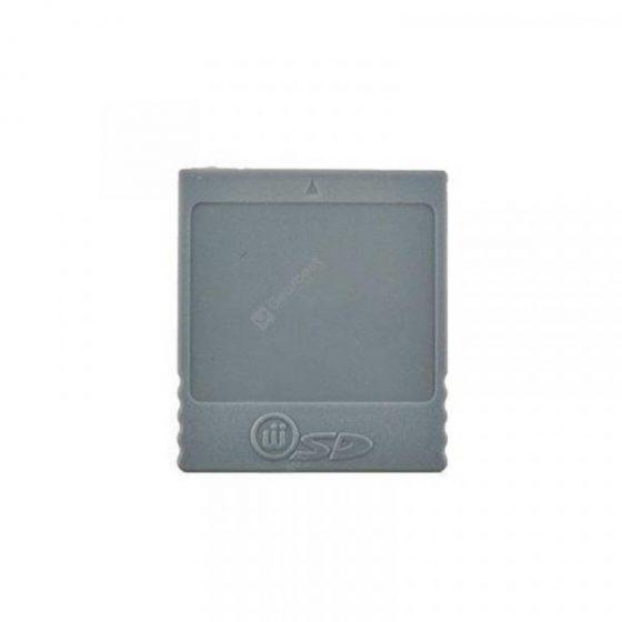 italiaunix-SD Memory Card Stick Card Reader Converter Adapter for Nintendo Wii NGC Gamecube  Gearbest