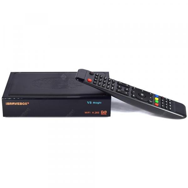 italiaunix-V8 Magic DVB - S / S2 TV Box  Gearbest