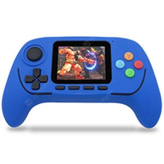 italiaunix-2.5G Wireless Bluetooth Handheld Charging Pocket Video Game Console with 788 Games 2.5 inch High-definition Screen  Gearbest