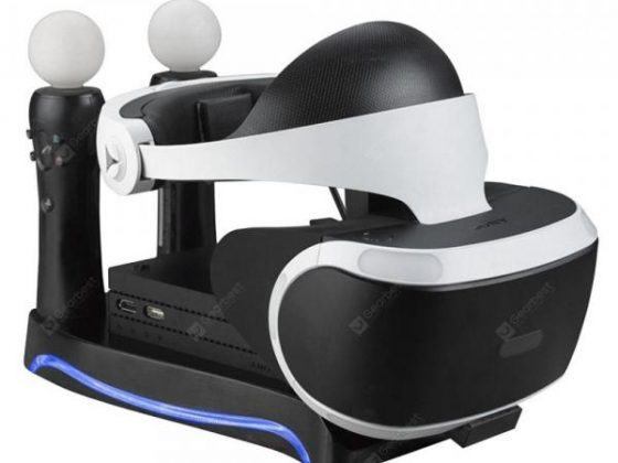 italiaunix-4 in 1 Charging Storage Stand Headset Bracket for PS4 PSVR PS Move VR  Gearbest