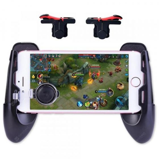 italiaunix-4 in 1 Phone Gaming Trigger Controller Joystick Fire Button Gamepad Kit for PUBG  Gearbest