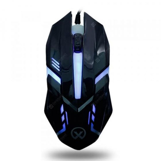italiaunix-G813 Colorful Backlight USB Athletic Game Mouse  Gearbest