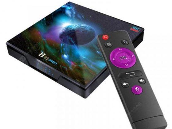 italiaunix-H10 Pro Smart Android 9.0 6K TV Box  Gearbest