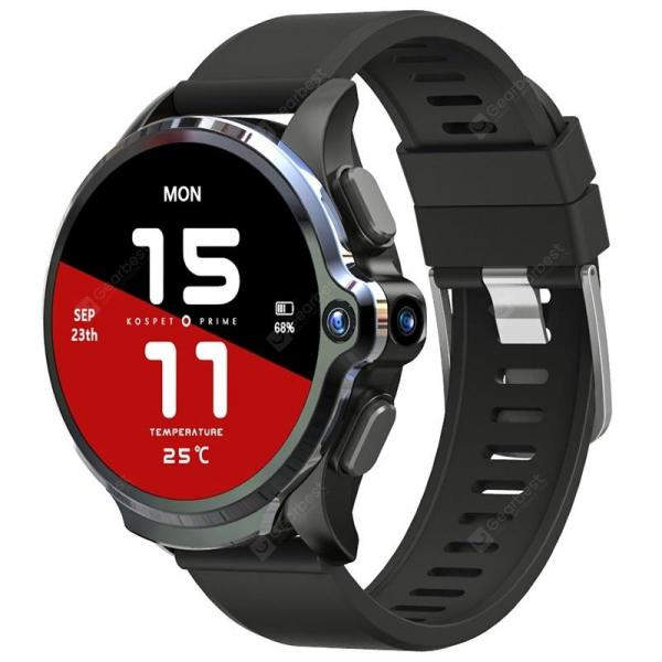 italiaunix-KOSPET Prime 4G Smart Watch Phone 3GB RAM 32GB ROM 1.6 inch IPS Screen Healthcare Sports Android Smartwatch with Dual Cameras 1260mAh Battery Face ID Unlock for Men  Gearbest