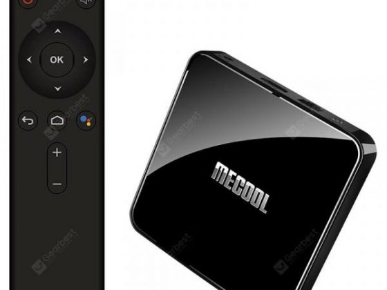italiaunix-MECOOL KM3 ATV Google Certified Amlogic S905X2 Android Pie 9.0 OS 4K TV Box with Voice Remote Dual Band WiFi Bluetooth USB 3.0  Gearbest