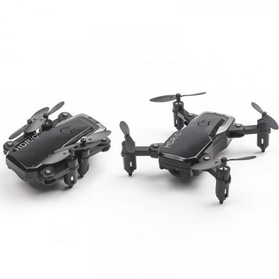 italiaunix-Mini RC Drone with Camera Wifi FPV Foldable Altitude Hold Quadcopter Remote Control Helicopter Toys  Gearbest