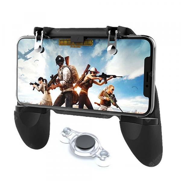 italiaunix-Minismile Smartphone Game Controller Joystick Fire Trigger Gamepad Set for PUBG  Gearbest