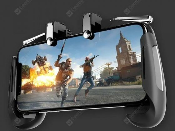 italiaunix-Mobile Phone Game Controller Trigger Fire Button Aim Key  Gearbest