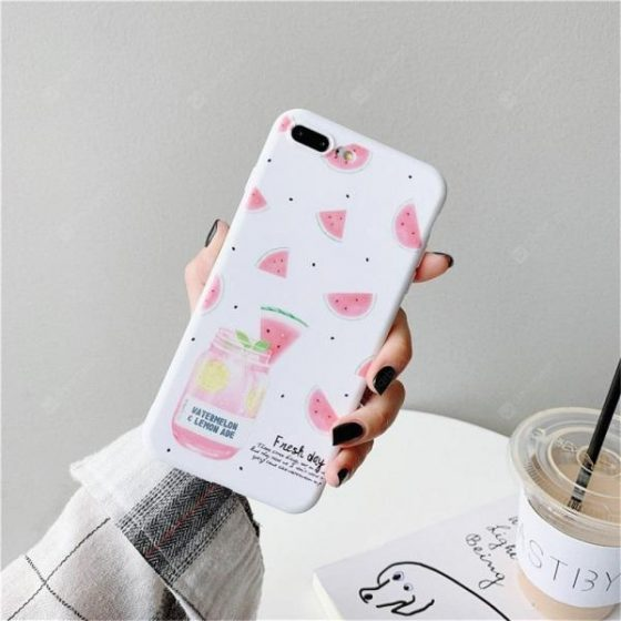 italiaunix-Mobile phone case cartoon fruit box for iphone 6S  Gearbest
