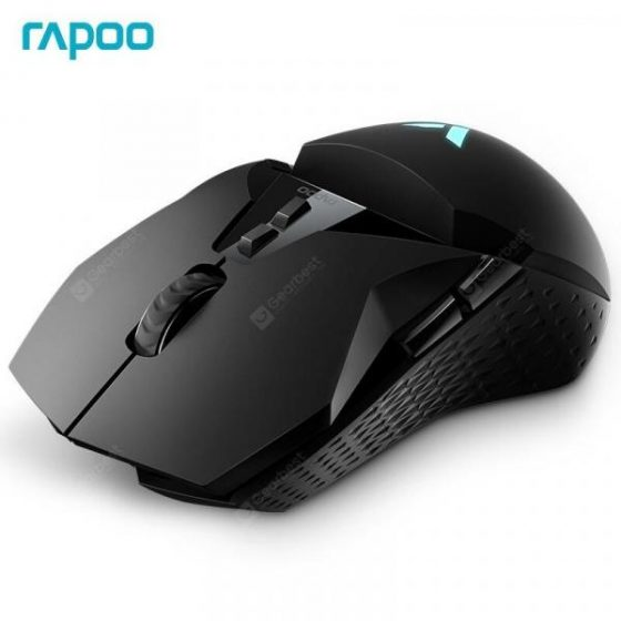italiaunix-Rapoo VT950 Original Wireless Mouse OLED Display RGB Gaming Mouse with 16000DPI 11 Buttons  Gearbest