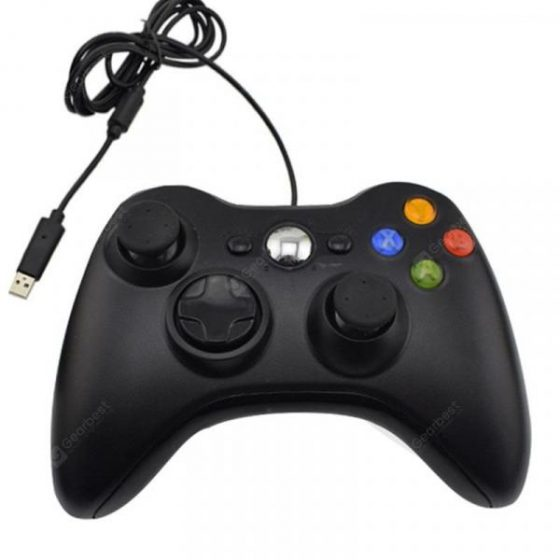 italiaunix-USB Cable Game controller Joystick For PC High Quality  Gearbest