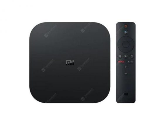 italiaunix-Xiaomi Mi TV Box S EU Plug IPTV Set top Box Media Player  Gearbest